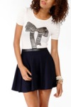 Forever 21 Bow Tee