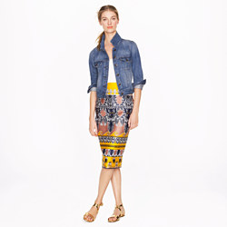 Long No. 2 Pencil Skirt