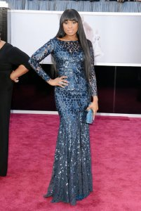 Jennifer Hudson in Roberto Cavalli Couture