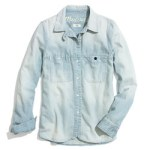 Madewell Printed Chambray